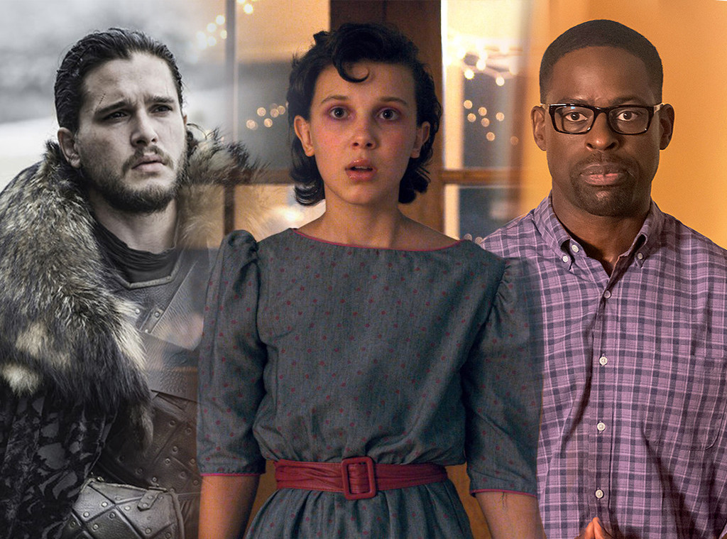 Golden Globe Predictions, Game of Thrones, Stranger Things, This Is Us